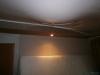 Слив воды с натяжного потолка